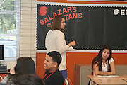 HISD First day of school August 27, 2012 at Scarborough High School.