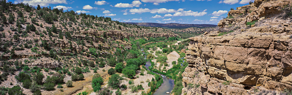 The canyon  of the Verde River in central Arizona