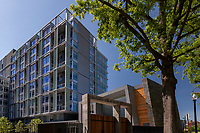 Exterior image of Valo Apartments in Washington DC by Jeffrey Sauers of CPI Productions