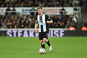 Matt Ritchie of Newcastle United during the The FA Cup third round replay match between Newcastle United and Rochdale at St. James's Park, Newcastle, England on 14 January 2020.