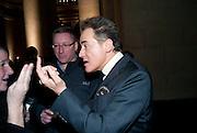PETER YORK, Turner Prize 2010. Tate Britain. Millbank. London. 6 December 2010. -DO NOT ARCHIVE-© Copyright Photograph by Dafydd Jones. 248 Clapham Rd. London SW9 0PZ. Tel 0207 820 0771. www.dafjones.com.