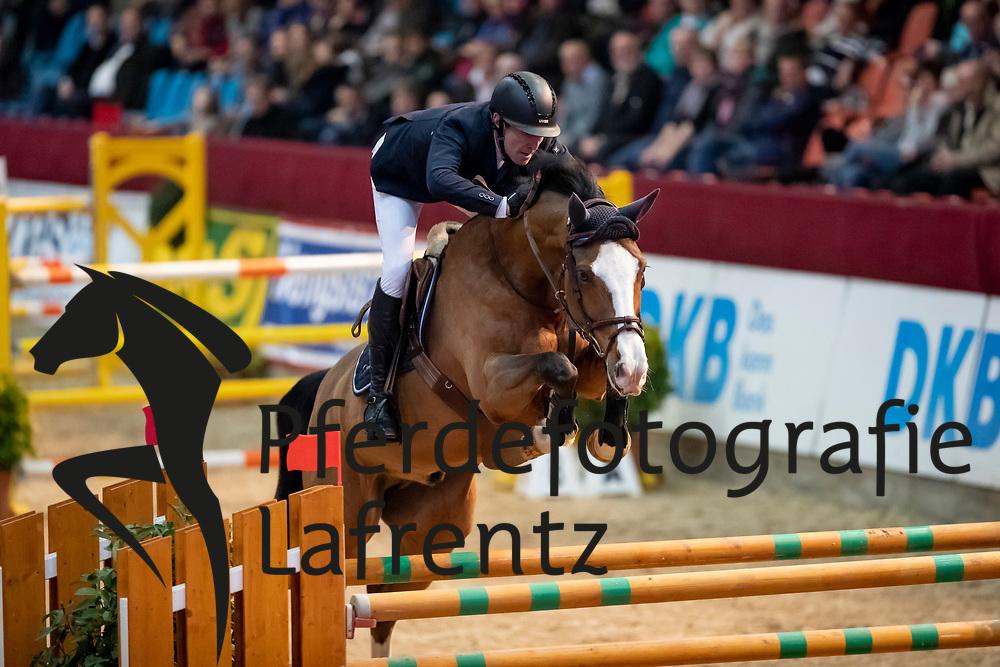 KÖHLBRANDT Hinerk (GER), Cedric 83<br /> Neustadt-Dosse - CSI 2019<br /> 2. Qualifikation Youngster Tour für 7 und 8 jährige Pferde<br /> 11. Januar 2019<br /> © www.sportfotos-lafrentz.de/Stefan Lafrentz