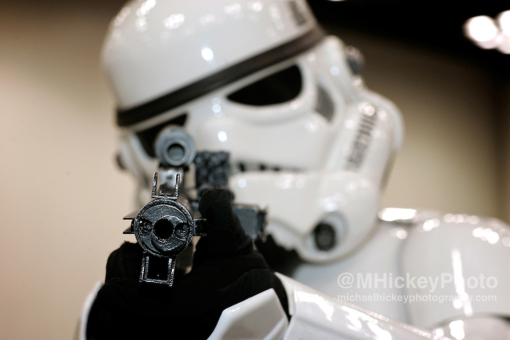 Stormtroopers at the Star Wars Celebration III convention in Indianapolis, IN. Photo by Michael Hickey