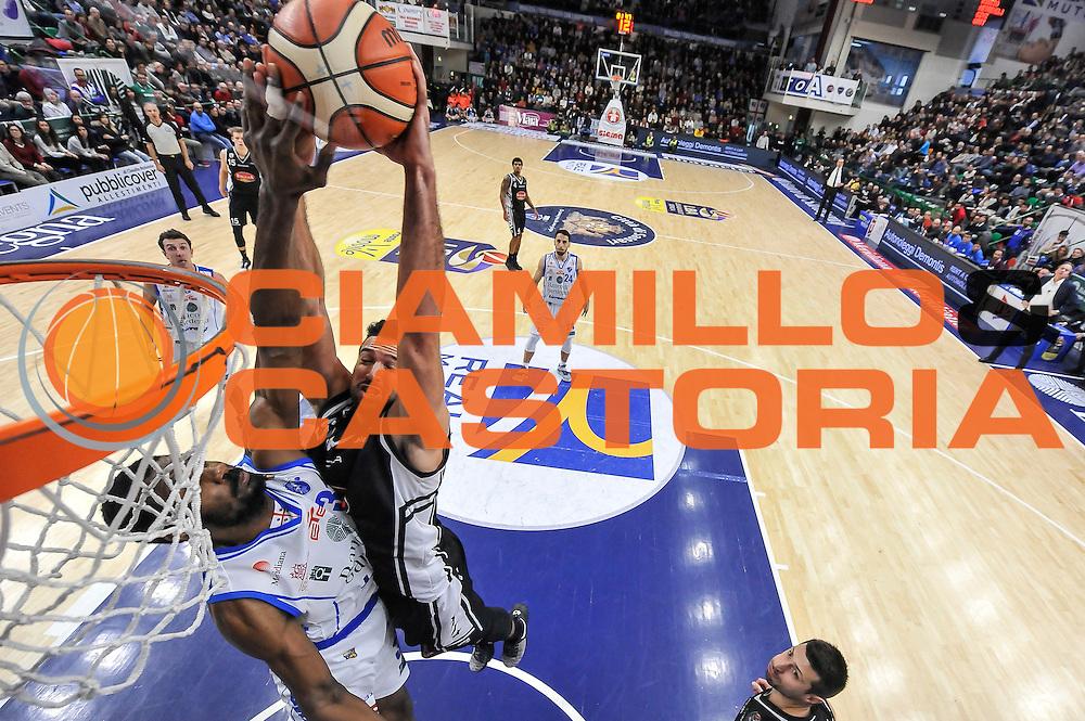 Mitchell Watt, Gani Lawal<br /> Banco di Sardegna Dinamo Sassari - Pasta Reggia Juve Caserta<br /> LegaBasket Serie A 2016/2017<br /> Sassari 08/01/2017<br /> Foto Ciamillo-Castoria