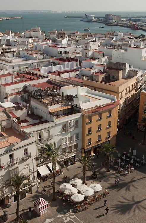 El Pópulo quarter  in Cadiz, Andalucía, Spain.