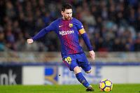 FC Barcelona's Leo Messi during La Liga match. January 14,2018. (ALTERPHOTOS/Acero)