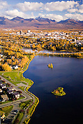 Alaska. Anchorage. Various aspects of the city of Anchorage.