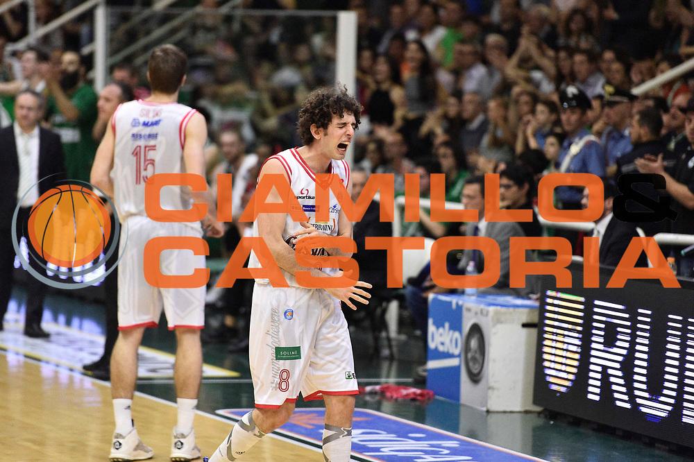 Avellino 28.05.2016<br /> Basket Serie A - Playoff Semifinali Gara 6<br /> Sidigas Avellino - Grissin Bon Reggio Emilia<br /> <br /> Nella foto: Amedeo Della Valle