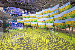 Samsung Quantum Dot Television display at 2016  IFA (Internationale Funkausstellung Berlin), Berlin, Germany