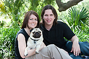 Carrie Comeaux and Anthony Watson engagement; Audubon Park