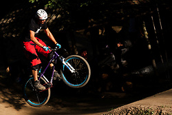 Divjina dirt jam, mountain bike and bmx competition at dirt park divjina, Krize, Trzic on 8 September, 2012, in Sportni center, Kranj, Slovenia. (Photo by Grega Valancic / Sportida)