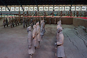 Terra-Cotta Warriors Museum, Xian, Shaanxi Province, China