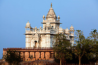 jaswant thada  in the beautiful city of jodhpur in rajasthan state in india