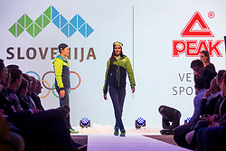 Official presentation of the Designer wear for Slovenian Athletes at PyeongChang Winter Olympic Games 2018, on December 19, 2017 in Grand Hotel Union, Ljubljana, Slovenia. Photo by Urban Urbanc / Sportida