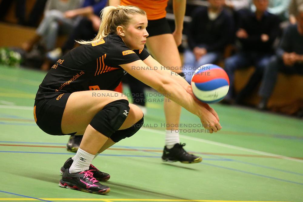 20160319 NED: Volleybal: Sliedrecht Sport - Springendal Set Up 65, Sliedrecht<br />Marloes Hesselink