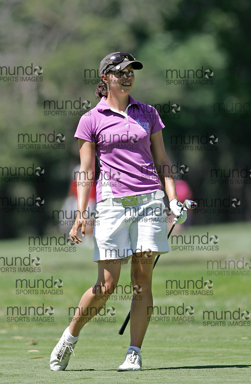 (Canberra, Australia---30 January 2011) Rachel Bailey of NSW, Australia playing in the final round of the ActewAgl Royal Canberra Ladies golf tournament as part of the 2011 Australian Ladies Pro Golf Tour./ 2011 Copyright Sean Burges. For Australian editorial sales, contact seanburges@yahoo.com.