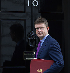 © Licensed to London News Pictures. 28/02/2017. LONDON, UK.  Secretary of State for Business, Energy and Industrial Strategy, Greg Clark arrives for a cabinet meeting at 10 Downing Street.  Photo credit: Vickie Flores/LNP