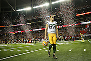 Green Bay Packers wide receiver Jordy Nelson (87) walks off the field following the NFC Championship game against the Atlanta Falcons on Sunday, Jan. 22, 2017 at the Georgia Dome in Atlanta. Atlanta won 44-21. (Michael Yanow/NFL)