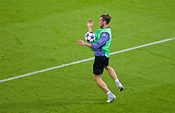 CARDIFF, WALES - Friday, June 2, 2017: Real Madrid and Wales striker Gareth Bale during a training session ahead of the UEFA Champions League Final between Juventus FC and Real Madrid CF at the Stadium of Wales. (Pic by David Rawcliffe/Propaganda)