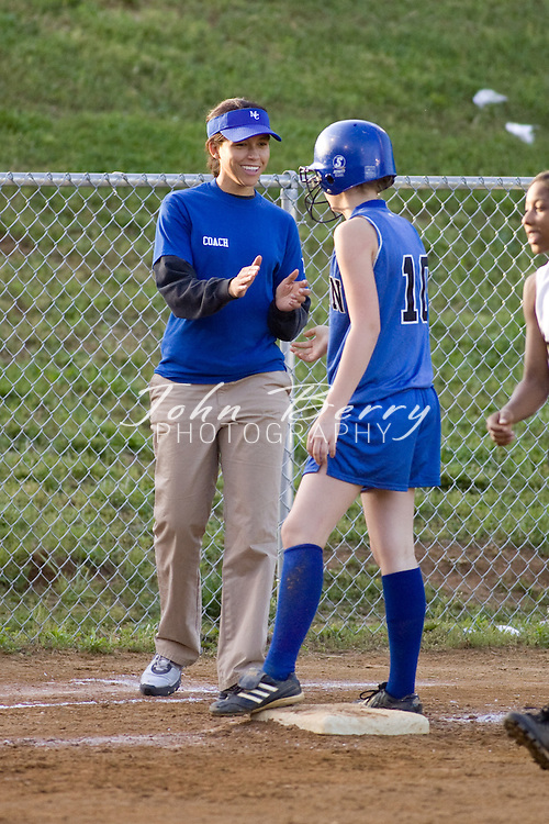 MCHS JV Softball .vs Manassas Park .5/13/2008..