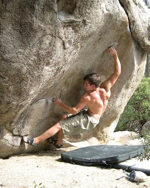 Gp Salvo on his route Weapons Grade (V12)<br /> Groom Creek, AZ