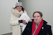 MONICA MAGNANI; DR. GABRIELE MAGNANI, Nothing Matters. Damien Hirst exhibition. White Cube. Mason's Yard. London. 24 November 2009