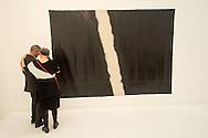 Figure B - No 6 by Koji Enokura exhibited at Frieze London 2014 by Taka Ishii gallery, Tokyo, Japan.