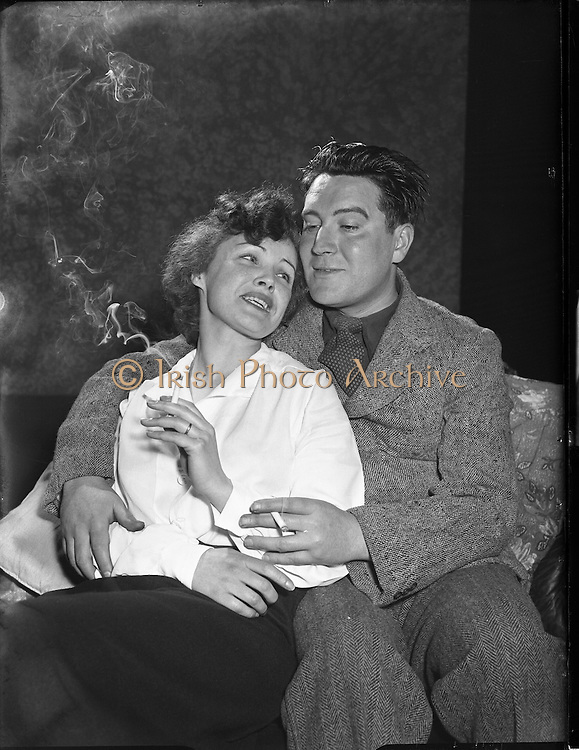 "Special for Abbey Theatre - Scenes from 'The Plough and the Stars' by Sean O'Casey.19/04/1955..The Plough and the Stars is a play by the Irish writer Seán O'Casey first performed on February 8, 1926 by the Abbey Theatre in the writer's native Dublin..It is the third of his well known ""Dublin Trilogy"" - the other two being The Shadow of a Gunman (1923) and Juno and the Paycock (1924)..The Abbey most recently presented the play from July to September 2010, directed by Wayne Jordan.."