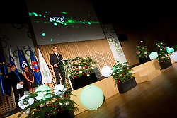 Aleksander Ceferin, president of NZS during traditional New Year Gala Night Reception of NZS - Football Association of Slovenia, on December 17, 2012 in Kongresni center, Brdo pri Kranju, Slovenia. (Photo By Vid Ponikvar / Sportida.com)