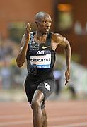 Timothy Cheruiyot (KEN) wins the 1,500m in 3:30.22 during the IAAF Diamond League final at the 44th Memorial Van Damme at King Baudouin Stadium, Friday, Sept. 6, 2019, in Brussels, Belgium. (Jiro Mochizuki/Image of Sport)