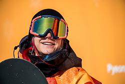 12-02-2018 KOR: Olympic Games day 3, PyeongChang<br /> finale Slopestyle / Snowboardster Cheryl Maas was na afloop uitermate ontstemd over het doorgaan van de finale van het slopestyle.