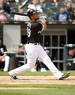 CHICAGO - MAY 09:  Jose Abreu #79 of the Chicago White Sox bats against the Pittsburgh Pirates on May 9, 2018 at Guaranteed Rate Field in Chicago, Illinois.  (Photo by Ron Vesely)  Subject: Jose Abreu