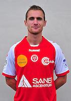 Antoine DEVAUX - 03.10.2013 - Photo officielle Reims - Ligue 1<br /> Photo : Philippe Le Brech / Icon Sport
