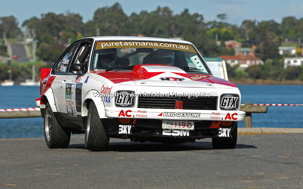#119 - Wayne Mercer & Graeme Parker - 1976 Holden Torana A9X.Prologue.George Town.Targa Tasmania 2010.27th of April 2010.(C) Joel Strickland Photographics.Use information: This image is intended for Editorial use only (e.g. news or commentary, print or electronic). Any commercial or promotional use requires additional clearance.