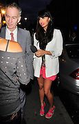 23.JUNE.2011. LONDON<br /> <br /> JOHN MCENROE AND JAMEELA JAMIL AT THE ANNUAL SLAZENGER WIMBLEDON PARTY 2011 HELD AT THE HOUSE OF ST BARNABAS IN SOHO, SQUARE IN LONDON<br /> <br /> BYLINE: EDBIMAGEARCHIVE.COM<br /> <br /> *THIS IMAGE IS STRICTLY FOR UK NEWSPAPERS AND MAGAZINES ONLY*<br /> *FOR WORLD WIDE SALES AND WEB USE PLEASE CONTACT EDBIMAGEARCHIVE - 0208 954 5968*