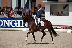 Veeze Bart, NED, Imagine<br /> World ChampionshipsYoung Dressage Horses<br /> Ermelo 2018<br /> © Hippo Foto - Dirk Caremans<br /> 02/08/2018