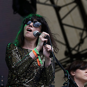 London,England,UK : 17th July 2016 : Cat's Eyes preforms at the Citadel Festival 2016 at Victoria Park, London,UK. Photo by See Li