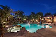 Chandler, Arizona twilight pool real estate photographer