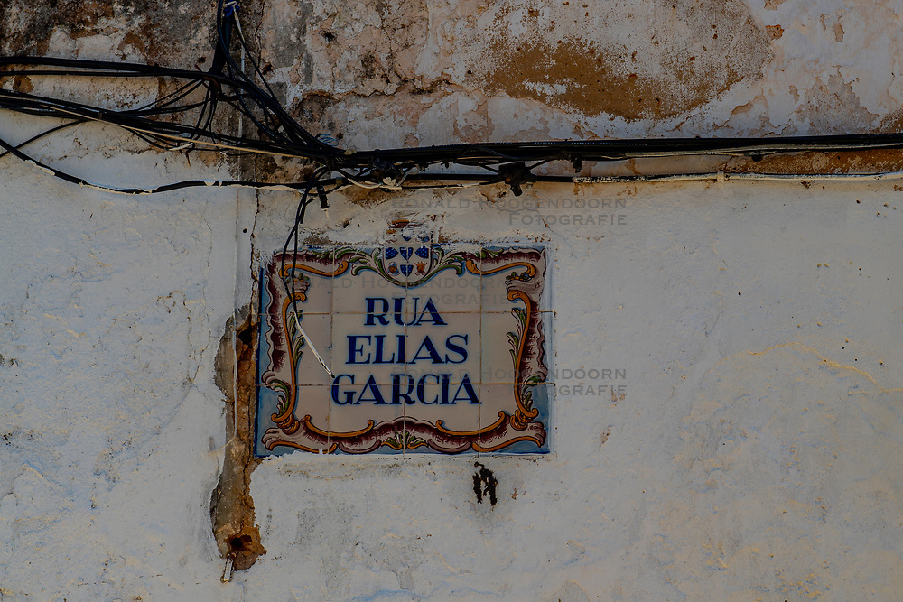 29-04-2019 POR: Vacation Algarve 2019 day 6, Albufeira<br /> Silves is the perfect town in the Algarve to explore for a day trip. Walking in this unique town with its cobbled streets makes you believe that time has stopped. The town is famous for having the most well preserved castle of the Algarve
