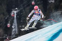 25.01.2020, Streif, Kitzbühel, AUT, FIS Weltcup Ski Alpin, Abfahrt, Herren, im Bild Josef Ferstl (GER) // Josef Ferstl of Germany in action during his run in the men's downhill of FIS Ski Alpine World Cup at the Streif in Kitzbühel, Austria on 2020/01/25. EXPA Pictures © 2020, PhotoCredit: EXPA/ Johann Groder