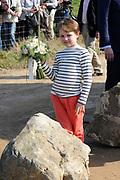 Prinses Máxima bij Nationale Viering van de 55ste Boomfeestdag in Oeffelt. Princess Maxima at the National Celebration of the 55th Boomfeestdag ( plant a tree day )in Oeffelt.<br /> <br /> Op de foto / On the photo:  Prinses Maxima komt aan / Prinses Maxima arrives