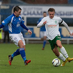 Queen of the South v Hibs   Scottish Championship   24 January 2015
