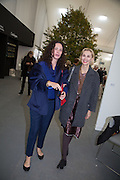 CELIA FORNER VENTURI; ALLEGRA HICKS; , The VIP preview of Frieze. Regent's Park. London. 16 October 2013