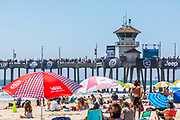 Summer at the Beach at Huntington Beach Pier