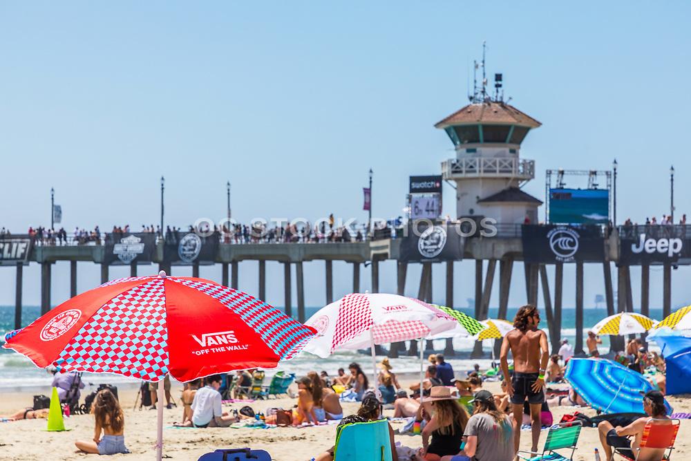 Summer at the Beach at Huntington Beach Pier
