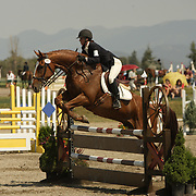 Alexis Bramley and Dante at the The Event at Rebecca Farm in Kalispell, Montana.