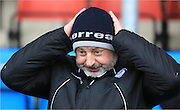 Keith Hill during the Sky Bet League 1 match between Crewe Alexandra and Rochdale at Alexandra Stadium, Crewe, England on 6 February 2016. Photo by Daniel Youngs.