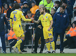 Stuart Sinclair of Bristol Rovers replaces Edward Upson of Bristol Rovers - Mandatory by-line: Alex James/JMP - 03/11/2018 - FOOTBALL - Bloomfield Road - Blackpool, England - Blackpool v Bristol Rovers - Sky Bet League One