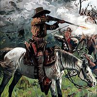PAINTING, Buffalo Bill