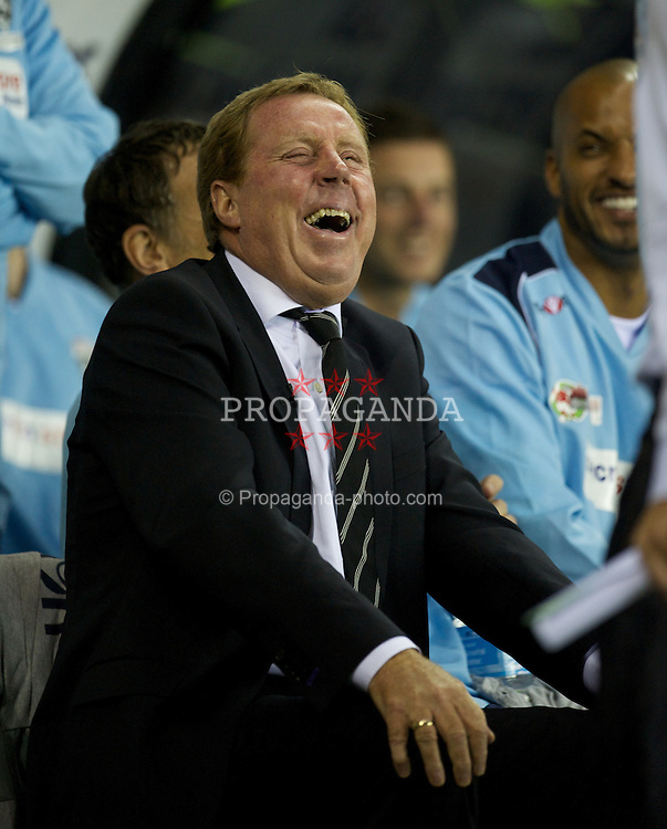 DERBY, ENGLAND - Thursday, September 8, 2011: England Legends' manager Harry Redknapp during a legends match against Wales at Pride Park. (Pic by David Rawcliffe/Propaganda)